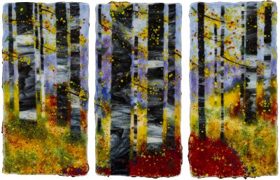 Blustery Triptych